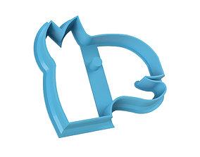 COOKIE CUTTER CAMEL 3D print model