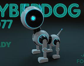 Cyber Dog - Dog Robot 3D model rigged