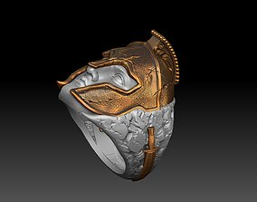 Spartan Ring 3D print model