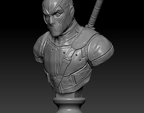 preschool Deadpool 3D print model