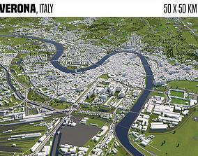 3D model Verona Italy