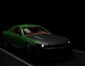 3D Nissan Silvia s15 tuning