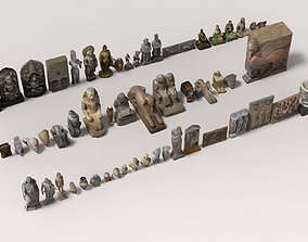 Museum Pack - Ancient Cultures Bundle 3D model