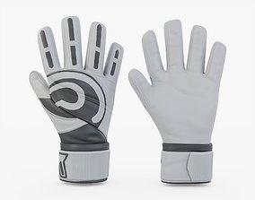 Goalie Gloves 3D asset