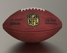 Official American NFL Football 3D