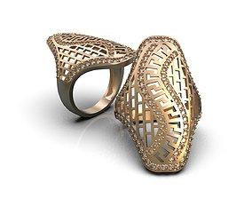Openwork ring A0-301211 3D print model