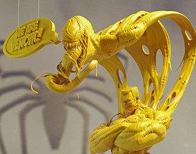 We Are Venom - Venom character sculpt statue - 3D