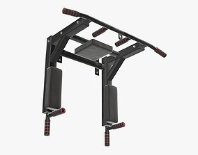 Pull-up bar universal 2 3D