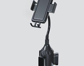 3D Car Cup Holder Phone Mount
