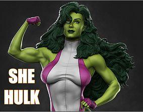 She Hulk 3D Model