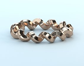 couture Spring ring 3D print model