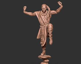 3D print model Shaolin monk remix - 35mm scale