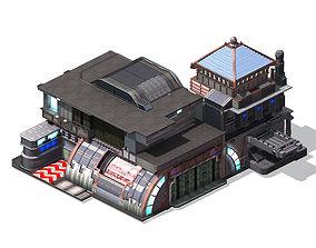 Future World - Building 062 3D