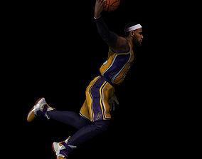 basketball Lebron James 3D print