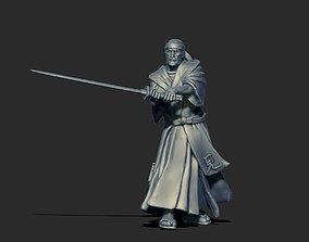 Samourai Sensei - Shiro 3D print model - 35mm