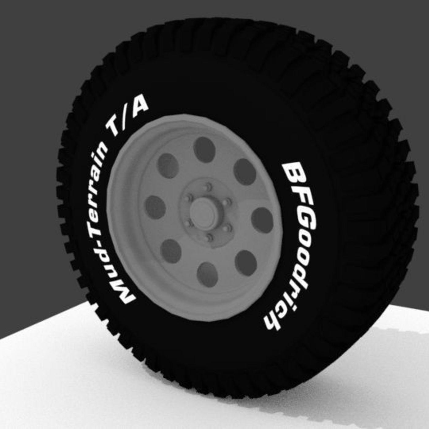 BF Goodrich Wheel