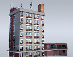 3D asset Communist administrative building