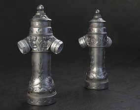 3D model Vintage London Fire Hydrant
