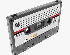 3D model low-poly Cassette max