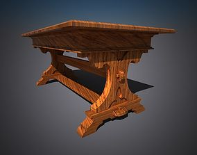 3D model dinning or farmtable