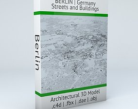 3D model Berlin Streets and Buildings