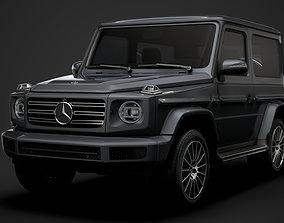 3D Mercedes Benz G 550 3 door W463 2020