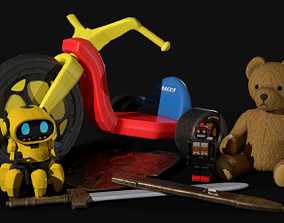 3D model Game Ready Toy Collection