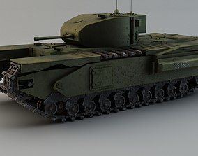 3D model Churchill Tank