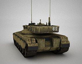 Tank Simple 3D asset