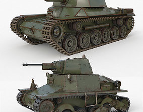 Tank Collection Vray 007 3D model