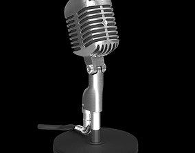 Shure Vintage Microphone 3D model