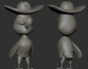 Suspicious Owl 3D print model