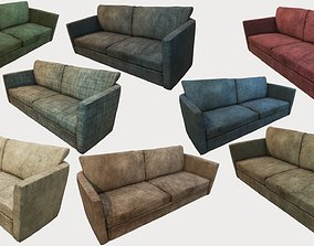 3D model Old Dirty Couches PBR