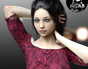 3D Julie for Genesis 8 Female