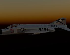 3D model aircraft F4 Phantom