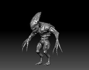 Creature Alien Z 3D print model
