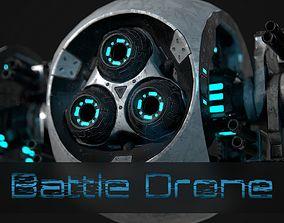 3D model Battle Drone