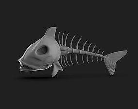 3D print model Fish Skelton