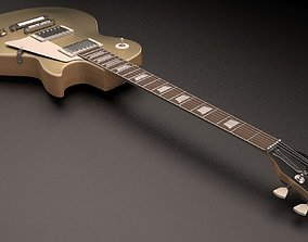 Gibson Les Paul TopGold 3D model