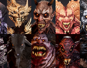 3D model Demons Full Pack