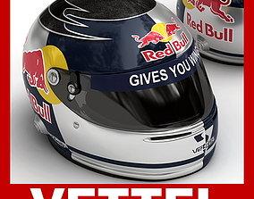 3D Helmet F1 2008 Sebastian Vettel
