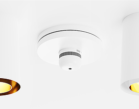3D asset Storm Medium Short and Smoke detector