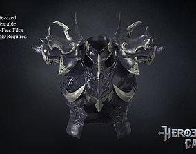 Final Fantasy XIV - Drachen Armor - Body 3D print model
