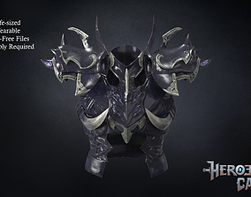 Final Fantasy XIV - Drachen Armor - Body 3D print model