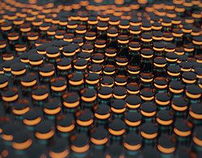 Cylinder Wave VJLoop 3D