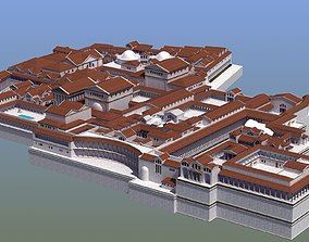 Ancient Palace Basic 3D model