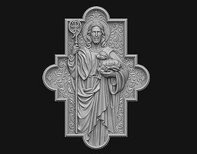 3D printable model The Shepherd Cross