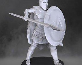 3D print model Spartan Soldier roman