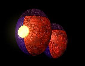 Alien Eggs Arachnipien 3D
