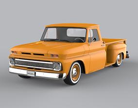 Chevrolet C10 Stepside 1966 3D